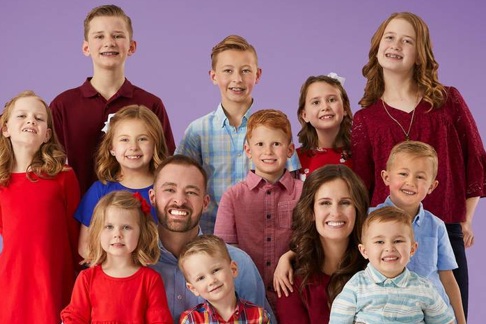 Making a blended family work: how losing their spouses brought this US couple and their 11 children together
